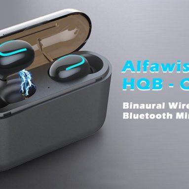$ 15 με κουπόνι για Alfawise HQB - Q32 TWS Binaural Ασύρματα Bluetooth Μίνι Ακουστικά από GEARBEST