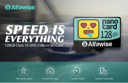 $ 13 s kuponom za Alfawise Brzi High Capacity Vodootporni Micro SD kartica - Multi 128G od GEARBEST
