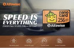 € 26 s kuponom za Alfawise Brzi High Capacity vodootporni Micro SD kartica - Multi 256G od GEARBEST