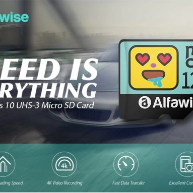 $13 with coupon for Alfawise High Speed High Capacity Waterproof Micro SD Card – Multi 128G from GEARBEST