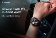 €79 with coupon for Alfawise KW88 Pro 3G Smartwatch Phone from GearBest