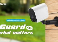 € 49 Alfawise L3 Plus 1080P için GEARBEST'ten Akıllı WiFi IP Ağlı Pil Kamerası