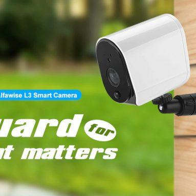 € 49 với phiếu giảm giá cho Alfawise L3 Plus 1080P Camera mạng IP WiFi thông minh từ GEARBEST