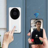 Sonnette vidéo Wi-Fi WiFi 39P avec 9 avec coupon pour Alfawise L1080 Plus Smart Home Security de GEARBEST