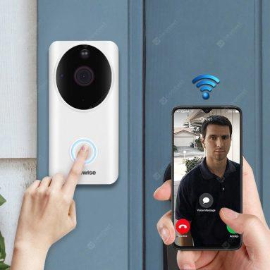 $ 39 với phiếu giảm giá cho Alfawise L9 Plus Bảo mật nhà thông minh 1080P Chuông cửa video WiFi từ GEARBEST