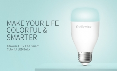 €10 with coupon for Alfawise LE12 E27 WiFi APP / Voice / Remote Control Smart LED Bulb from GEARBEST