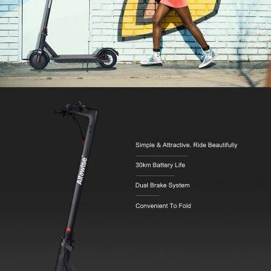 € 282 với phiếu giảm giá cho Alfawise gốc M1 Folding Electric Scooter - BLACK 7.8AH LG PIN từ GearBest