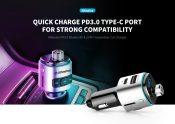 $12 with coupon for Alfawise PD3.0 Bluetooth 4.2 FM Transmitter Fast Charge Car Charger from GEARBEST