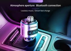 € 7 dengan kupon untuk Alfawise QC3.0 Bluetooth 4.2 FM Transmitter Dual USB Port Charger Mobil dari GEARBEST