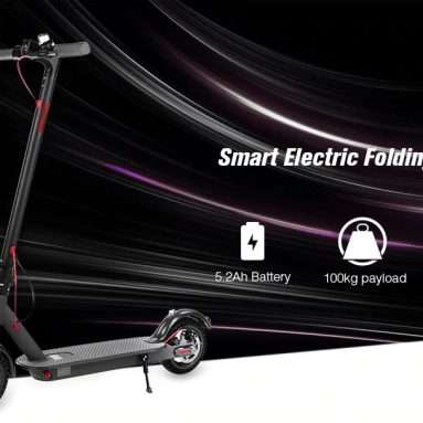 $ 299 s kuponem pro Alfawise T0 Nárazuvzdorný skládací elektrický skútr od společnosti GearBest