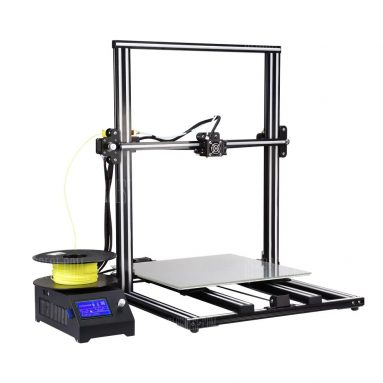 $435 with coupon for Alfawise U10 3D Printer 40 x 40 x 50cm Printing Size DIY Kit  –  EU PLUG  BLACK from GearBest