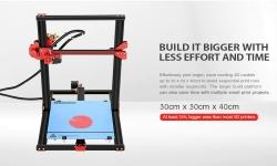 $ 279 z kuponem do Alfawise U20 Duża skala 2.8 cala Ekran dotykowy DIY Drukarka 3D - CZARNA PLUGA od GearBest