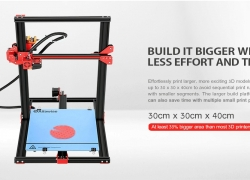 $279 with coupon for Alfawise U20 Large Scale 2.8 inch Touch Screen DIY 3D Printer – BLACK EU PLUG EU warehouse from GearBest