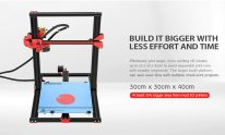 $265 with coupon for Alfawise U20 Large Scale 2.8 inch Touch Screen DIY 3D Printer – BLACK EU PLUG EU warehouse from GearBest
