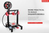 €155 with coupon for Alfawise U30 2.8 inch Touch Screen DIY Desktop 3D Printer – BLACK EU PLUG  from GearBest