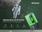 €193 with coupon for Alfawise W10 LCD SLA Resin 3D Printer – Green EU Plug EU WAREHOUSE from GEARBEST