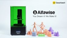 $289 with coupon for Alfawise W20 UV LCD 3D Printer 2K Resolution Build Volume 120 x 68 x 170mm – Green EU Plug from GEARBEST