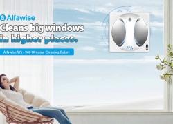 $ 169 s kupónom pre Alfawise WS - 960 Robot Window Cleaner - striebro od GearBest