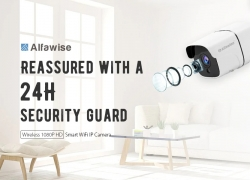 $33 with coupon for Alfawise Wireless 1080P HD Smart WiFi IP Camera from GearBest