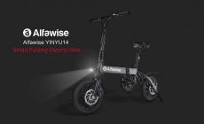 € 477 अल्फावेक्स X1 तह इलेक्ट्रिक बाइक के लिए कूपन के साथ कूपन ई-बाइक - ब्लैक 10.4Ah बैटरी यूरोपीय संघ GEARBEST से