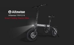 € 429 mit Gutschein für Alfawise X1 Faltbares Elektrofahrrad Moped E-Bike - BLACK 7.8AH BATTERY von GearBest