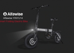 €385 with coupon for Alfawise X1 Folding Electric Bike Moped Bicycle E-bike – BLACK 7.8AH BATTERY EU WAREHOUSE from GearBest