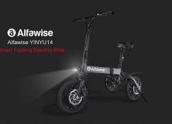 € КСНУМКС са купоном за Алфависе КСКСНУМКС Склопиви електрични бицикл мопед бицикл Е-бике - БЛАЦК КСНУМКСАХ БАТТЕРИ од ГеарБест