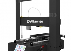€243 with coupon for Alfawise X6A Metal Quickly 3D DIY Printer 220 x 220 x 220mm – BLACK EU PLUG from GearBest