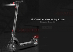 $389 with coupon for Alfawise X7 Folding Electric Scooter from GEARBEST