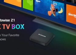 €42 with coupon for Alfawise Z1 TV BOX with 2.4G Voice Control – BLACK 3+32G EU from GEARBEST