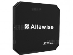 $34 with coupon for Alfawise Z28 Pro Smart TV Box EU PLUG from GearBest