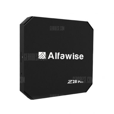 $39 with coupon for Alfawise Z28 Pro Smart TV Box EU PLUG from GearBest
