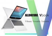 219 € avec coupon pour ordinateur portable Alldocube VBook 13.5 pouces 3000 * 2000 haute résolution Intel N3350 8G RAM 256 Go eMMC 100% sRGB 38Wh Bloc-notes entièrement en métal Type-C de BANGGOOD