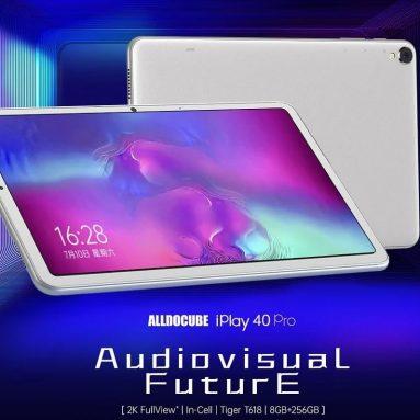 187 € s kupónem pro Alldocube iPlay 40 Pro UNISOC T618 Octa Core 8GB RAM 256GB ROM 4G LTE 10.4 palcový 2K displej Android 11 Tablet od BANGGOOD