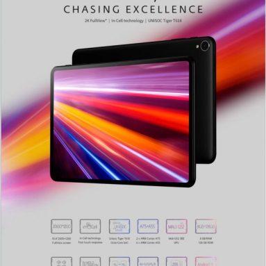 €178 Alldocube iPlay 40H UNISOC T618 Octa Core 8GB RAM 128GB ROM 4G LTE 10.4 इंच 2K स्क्रीन Android 11 टैबलेट के लिए कूपन के साथ BANGGOOD