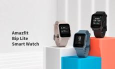 $ 53 s kupónem pro originální Amazfit Bip Lite lehký venkovní náramek PPG monitor srdeční frekvence 45 dny pohotovostní chytré hodinky od xiaomi Eco-System - Pink od BANGGOOD