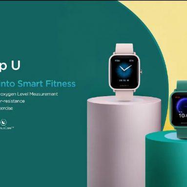 50 € με κουπόνι για Amazfit Bip U 1.43 ίντσες έγχρωμη οθόνη Wristband Blood Oxygen Monitor 60+ Sport Modes Tracker Μικρόφωνο GPS Smart Watch Παγκόσμια έκδοση από BANGGOOD