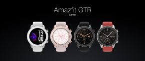 $ 116 med kupon til Amazfit GTR 42MM Smart Watch 12 Days Battery Music Control 5ATM Armbånd International version fra xiaomi Eco-System - Sort fra BANGGOOD