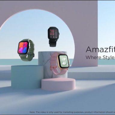 € 103 2021 글로벌 버전 쿠폰 포함 Amazfit GTS 2e Smartwatch 1.65 인치 수면 Quaility 모니터링 90 스포츠 모드 수영 스마트 시계 for IOS from ALIEXPRESS