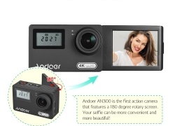 €53 with coupon for Andoer AN300 4K WiFi 16MP Action Sports Camera from TOMTOP