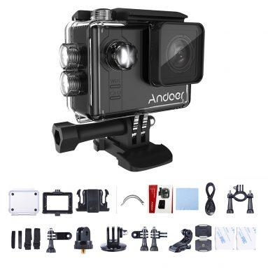 $ 97 với phiếu giảm giá cho Andoer AN7000 Full HD 16MP WiFi Chống rung Lặn chống thấm nước 60m 2.0 ″ LCD Camera DV thể thao từ TOMTOP