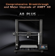 € 229 mit Gutschein für Anet® A8 Plus DIY 3D-Drucker von BANGGOOD