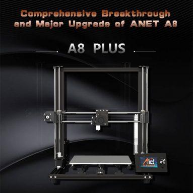 196 אירו עם קופון עבור Anet® A8 Plus DIY 3D מדפסת תוצרת האיחוד האירופי WAREHOUSE מבריטניה