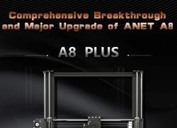 € 287 dengan kupon untuk Anet A8 Plus 3D Printer 300 x 300 x 350mm - BLACK EU PLUG dari GearBest