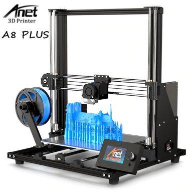 € 158 na may kupon para sa Anet A8 Plus Na-upgrade na Mataas na katumpakan DIY 3D Printer EU GERMANY Warehouse mula sa TOMTOP