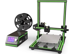 $199 with coupon for Anet E10 Aluminum Frame Multi-language 3D Printer DIY Kit GREEN EU from GearBest