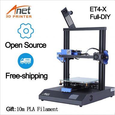 € यूरोपीय संघ GER गोदाम TOMTOP से Anet ET134X FDM 4D प्रिंटर किट के लिए कूपन के साथ 3