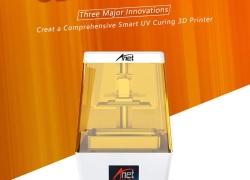 $ 399 s kupónom pre Anet N4 Nový UV fotokúrová LCD 3D tlačiareň s 3.5 palcovým farebným dotykovým displejom Off-line tlač - WHITE US PLUG od GearBest