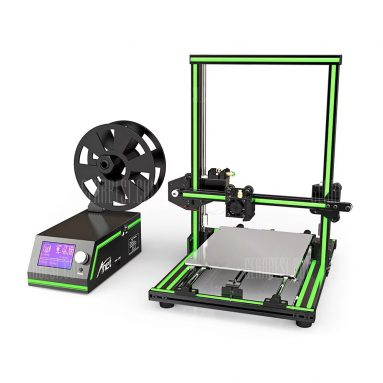 €193 with coupon for Anet E10 Aluminum Frame Multi-language 3D Printer DIY Kit EU Plug Green EU warehouse from GearBest