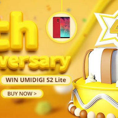 GearBest 4th Anniversary! Grab your Gifts and use our special discount coupon to get 8% off!